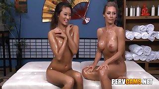 Nicole And Alina Fairy Friends Oiled Body Playing - Nicole Aniston And Alina Li