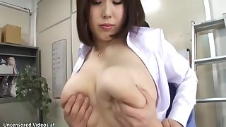 Japanese Descendant In all directions Monumental Tits Gives Pleasure