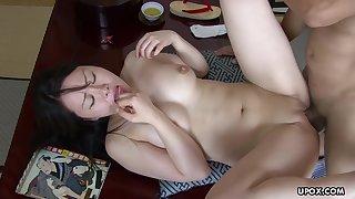 Horny Asian Brunette, Nozomi Onuki Got Banged Very Hard