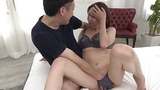 Japanese mature leaves horny nephew enjoyment from her in hardcore