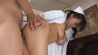 Doctor Has Hina Hanamis Tight-fisted Nurse part4