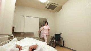 Appealing nurse sucking a dick in POV video - Mizushima Nana