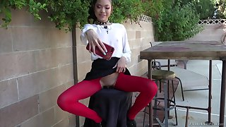 Vina Sky gets her tight asshole totally destroyed and gets a facial
