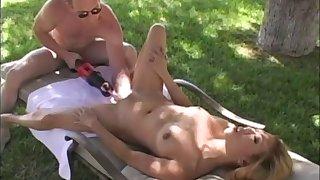 Stunning Asian babe with petite perky tits enjoying a hardcore vibrator fuck