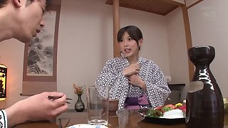 Touching Tsukasa Aoi naughtily and inappropriately