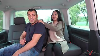 Exotic petite teen babe Killa pounded hardcore in a car